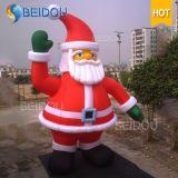ReuzeKerstmis de Opblaasbare Kerstman van de Kerstman van de fabriek In het groot Goedkope Opblaasbare