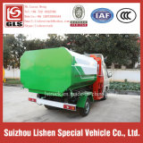 3 Cbm Side Loading und UNO-Loading Crane Bucket Garbage Truck Mini Rubbish Vehicle