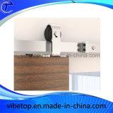 Matériel de porte coulissante d'acier inoxydable pour la porte en verre