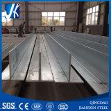 Горячий окунутый гальванизированный стальной луч t (50*50*5-500*500*25mm)