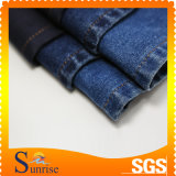 (Напечатанная) ткань джинсовой ткани Spandex полиэфира хлопка (SRS-120267-D8)