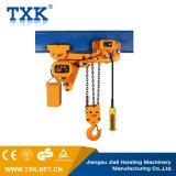 Txk 7.5 Tonnen-elektrische Kettenhebevorrichtung mit niedriger Durchfahrtshöhe