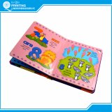 Impresión del libro de niño de la cartulina del color