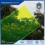 Hoja de acrílico colorida translúcida del 100%