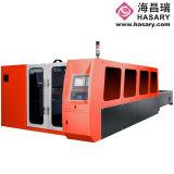 Máquina de estaca Cantilever do laser da fibra de 3 séries
