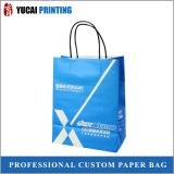 sacchetto bianco della carta kraft di 120g Con il marchio da vendere