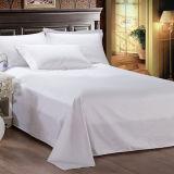 Folha de cama grandioso do Percale do algodão egípcio do hotel (DPFB8090)