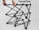 Киоск стойки торговой выставки портативный встречный с Pop-up конструкцией