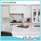 Prezzi prefabbricati della parte superiore del quarzo della cucina della superficie solida all'ingrosso bianca