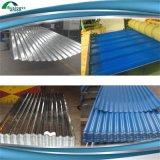Le profil 828 a enduit la tuile d'une première couche de peinture de toiture plongée chaude galvanisée de zinc