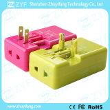 Переходника электричества перемещения портативного двойного выхода USB всеобщий (ZYF9000)