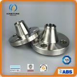 Le collet en acier de soudure d'ASME B16.5 Stainles a modifié la bride avec TUV (KT0003)