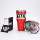 O Rambler alaranjado do Tumbler do Yeti da chama coloca o copo do Yeti das canecas do chá do Tumbler do aço 30oz inoxidável