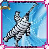 Kundenspezifischer Belüftung-Schlüsselring für Gummischlüsselring-Geschenk