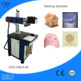 Máquina de la marca del laser del diodo del CO2 YAG de la fibra para los productos plásticos