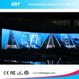 La maggior parte del schermo di visualizzazione curvo dell'interno poco costoso del LED di P6mm