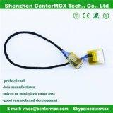 40pin ao diodo emissor de luz 30pin ao cabo do conversor do LCD