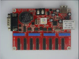 Tela de indicador do diodo emissor de luz do cartão de controle do diodo emissor de luz para a propaganda (TF-C6NUR)
