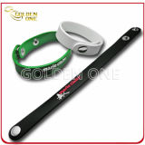 Wristband in bianco poco costoso della gomma di silicone del rifornimento