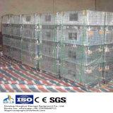 Almacenaje del almacén usar el envase de almacenaje plegable