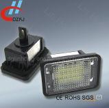 Lámpara del número de matrícula del vehículo del LED para el Benz Glk X204 (07~13) con OEM A2048200156