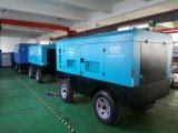 Compresor de aire portable móvil del tornillo del motor diesel para la explotación minera