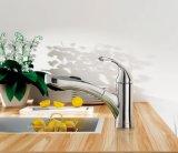 El laminado de cromo saca el grifo del fregadero de cocina (F02A)