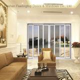 Дверь алюминиевого сплава верхнего качества коммерчески стеклянная (FT-D143)