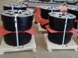 砂型で作るカスタマイズされた鉄の鋳造車輪のカウンターウェイトの鋳造