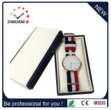 Uhr Dw japanische Miyota Bewegungs-Edelstahl-Mann-Form-römische Daniel-Wellington lederne Brücke-Uhren