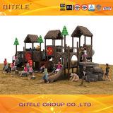 新しく自然な景色シリーズ屋外の子供の運動場装置(NL-01901)