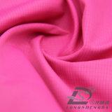 agua de 50d 330t y de la ropa de deportes tela tejida chaqueta al aire libre Viento-Resistente 100% del poliester del filamento del telar jacquar de la tela escocesa abajo (53120)