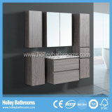 New Modern Wood Oak Cabinet Unit Cabinet Design New Style Bathroom Furniture (BF114M)
