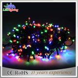 Света шнура белизны 5mm света 70 СИД шнура света СИД праздника света украшения рождества теплые
