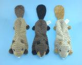 Jouets bourrés mous d'animal d'animal familier de peluche avec le Squeaker à l'intérieur du ventre