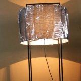 De moderne Staand lamp van het Ijzer van het Hotel Decoratieve Zwarte Grote Bevindende