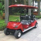 Carro de golf de 6 Seater con el certificado Dg-C4+2 (China) del Ce posterior del asiento