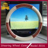 De nieuwste Dekking Van uitstekende kwaliteit van het Stuurwiel van de Auto van het Leer van het Ontwerp Echte