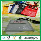 Kundenspezifische Qualitäts-Nylonabzeichen-Halter mit Feder und Identifikation-Karte