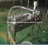 Semi-Auto Liquid Pigment Filling Machinery mit dem Mit einer Kappe bedecken-Sealing-Labeling