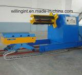 8 toneladas automático hidráulico Uncoiler con la bobina de coches para máquina formadora de rollos