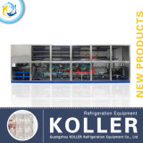 Koller The Largest 25tons Capacity Ice Cube Machine in Afrika
