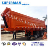 Tri-Essieu du camion lourd 25cbm du Vietnam inclinant le dumper de remorque