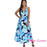 Tangerina Multi-Color Floral Print Paneled Dress