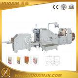 La alimentación de rollo Botón cuadrado de la máquina de fabricación de bolsas de papel
