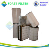 Cartucho de filtro de reemplazo cónico del aire del polvo de Forst