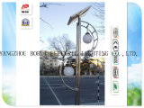 Jardim Light do diodo emissor de luz Solar com 3.5m Common Steel Pólo e 12V Working Voltage