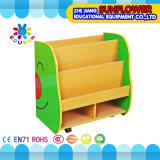 Coffret d'étalage en bois de mémoire de jouet d'enfants, crémaillère de livre, compartiment en bois de jouet, insecte modelant la crémaillère de jouets (XYH12141-2)
