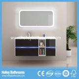 Cabina blanca del fregadero del cuarto de baño del LED del tacto ligero de la perla High-Gloss caliente del interruptor (B926P)