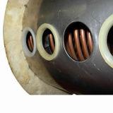 Катушки меди компакта давления проекта плавательного бассеина подогреватель воды высокой солнечный
